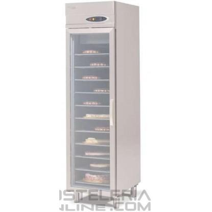 Armario refrigerado para pasteleria con puerta de cristal