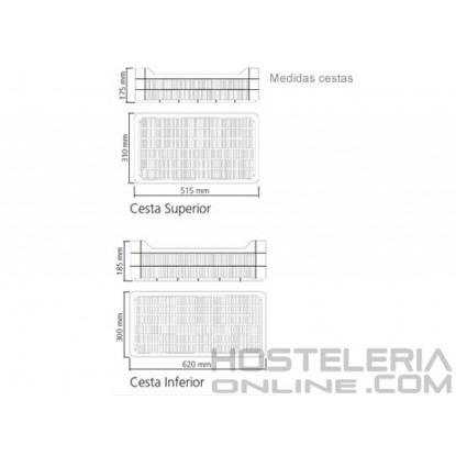 Set de 13 cestas para Congelador ANS-601