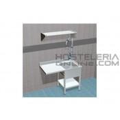 Opción Mastil corto H-70 cm para Grifo ducha