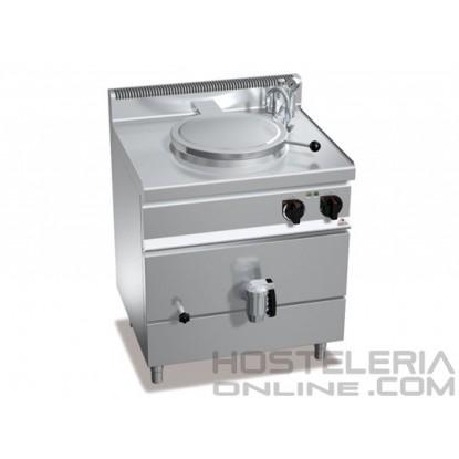 Marmita eléctrica calor indirecto