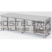 Mesa fria baja (altura 600) 1800x700 (3 puertas)