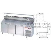 Mesa refrigerada para pizzas 1500