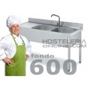 Fregaderas Industriales Fondo 600