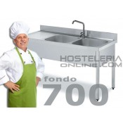 Fregaderas Industriales Fondo 700