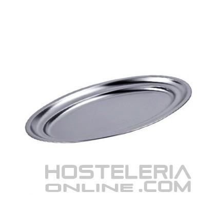 Bandeja oval plana 20x13