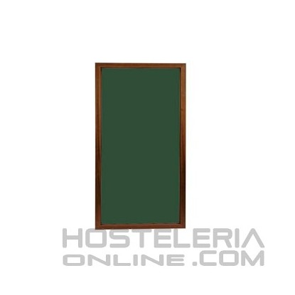 Pizarra 120x50 Verde/Nogal