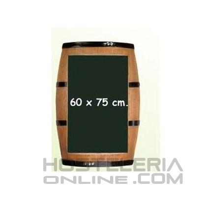 Pizarra 60x75 forma barril
