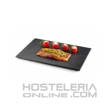 Plato pizarra cuadrado 30 x 20 cm