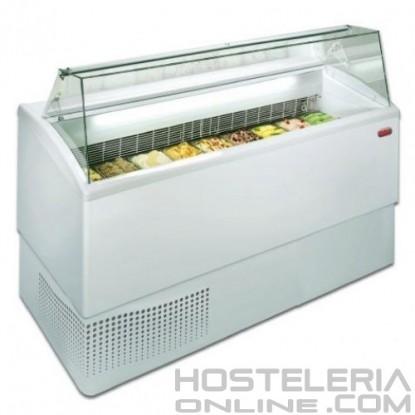 5-Vitrina profesional para helados 6RS