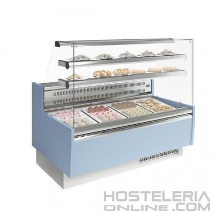 Vitrina de pastelería Glacé Recta 14 INFRICO