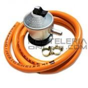 Kit regulador para bombonas de gas