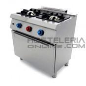 Cocina 2 fuegos+Horno
