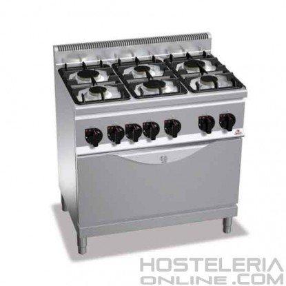 Cocina 6 fuegos + Horno Grande