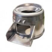 Conjunto Cilindro abrasivo PP/PPC - /6 + Sammic