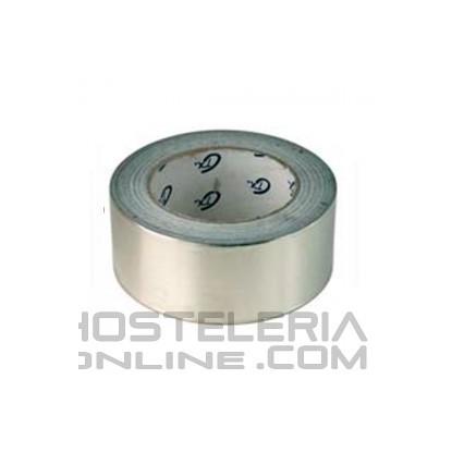 Cinta aluminio 30 micras-50mm - 5 mts