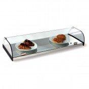 Expositor pastas 4 estantes cristal