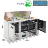 Mesa refrigerada para ensaladas