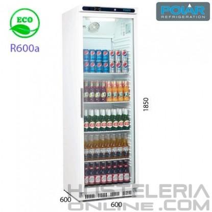 Armario expositor de refrigeración 1 puerta