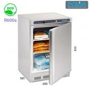 Congelador bajo mostrador inox