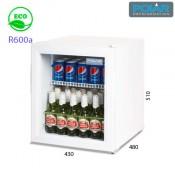 Refrigerador expositor sobre mostrador