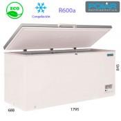 Arcón congelador puerta abatible 1795mm