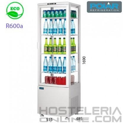 Expositor refrigerado 4 caras 235 lts Blanco