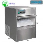Fabricador cubitos de hielo 20 kgs
