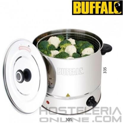 Cocedor al vapor eléctrica 6 litros