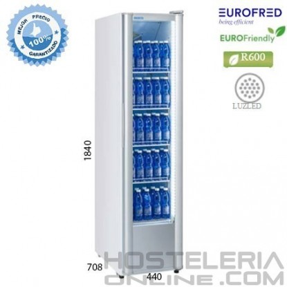 Armario expositor puerta Cristal RC300