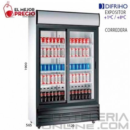 Armario Refrigerado puertas correderas