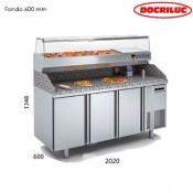 Mesa fría para pizza 2000