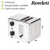 Tostador Profesional  Rowlett 2 Ranuras