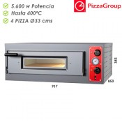 Horno Industrial Pizzagroup 4 x 330 mm