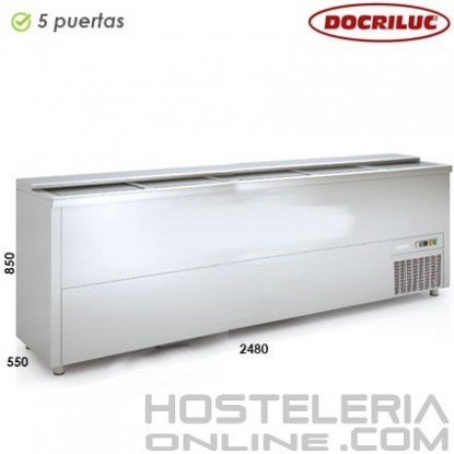 Botellero industrial inox 2500