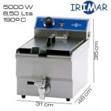 Freidora 8,5 litros IRIMAR (Con grifo)