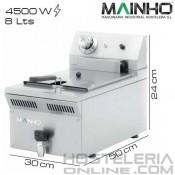 Freidora 8 litros MAINHO (Con grifo)