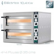 Horno de pizza eléctrico Cuppone TZ 435/2M