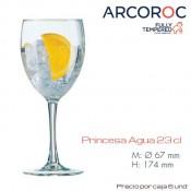 Copa Agua Princesa 23 Cl (Caja 6 unds)