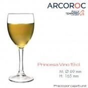 Copa Vino Princesa 19 Cl (Caja 6 unds)