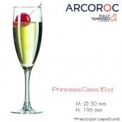 Copa Flauta Princesa 15 Cl (Caja 6 unds)