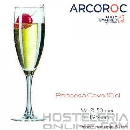 Copa Flauta Princesa 15 Cl