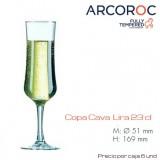 Copa Lira cava 15 Cl (Caja 6 unds)