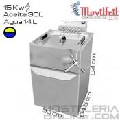 Freidora 44 litros MOVILFRIT (Agua/Aceite)