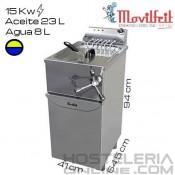 Freidora 31 litros MOVILFRIT (Agua/Aceite)