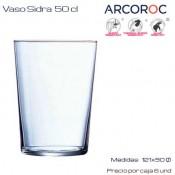 Vaso Sidra Arcoroc 50 Cl (Caja 6 unds)