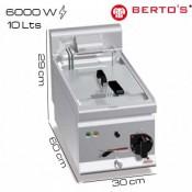 Freidora eléctrica 10 lts Bertos