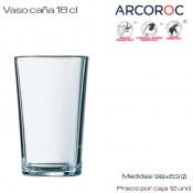 Vaso Caña 18 cl (Caja 12 unds)
