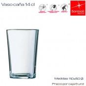 Vaso Caña 14 cl (Caja 12 unds)