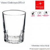 Vaso Saboya 25 (Caja 24 unds)