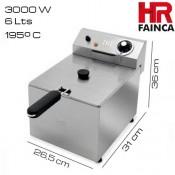 Freidora 6 litros HR